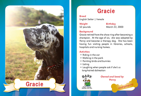 Gracie Trading Card