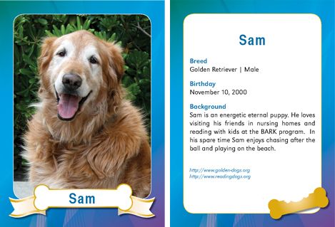 Dog Trading Card