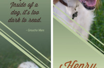Henry – Therapy Dog Bookmark