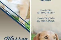 Warren – Therapy Dog Bookmark